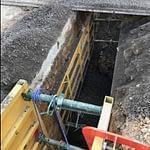 metal digging project