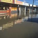 water overflows on establishment