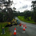 civil leading plumbing road area