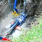 civil leading plumbing pipes